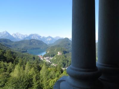 Alpsee-Ausblick vom Schloss Neuschwanstein