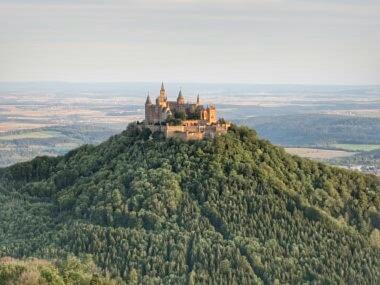 Hohenzollern im Morgengrauen