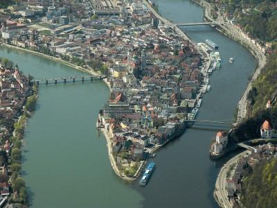 Drei-Flüsse-Eck Passau