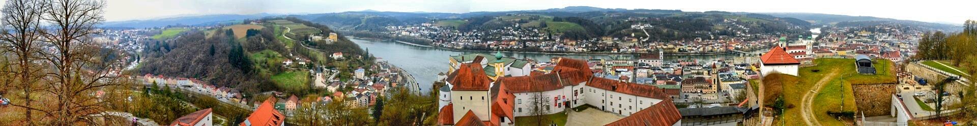 Panorama Passau