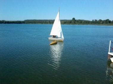Segeln am Singliser See