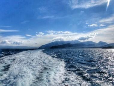 Überfahrt nach Capri