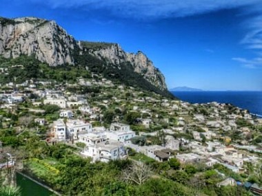 Stadt Capri