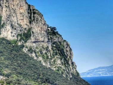 Straße nach Anacapri