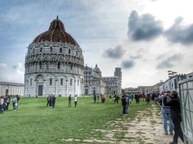 Pisa Taufkirche Dom schiefer Turm