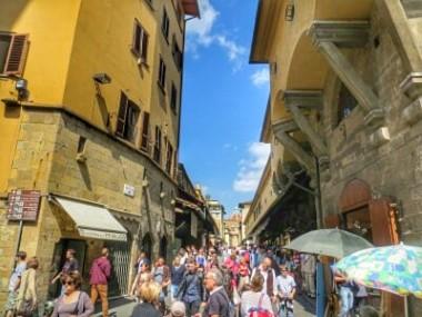 Ponte Vecchio innen