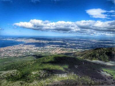 Blick nach Neapel
