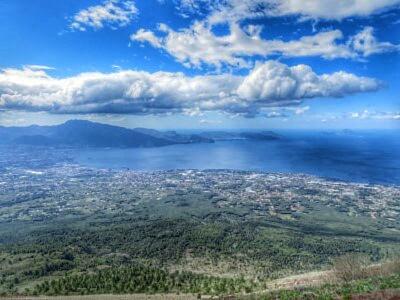 Blick in den Golf von Neapel