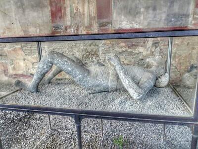 Leiche in Pompeji