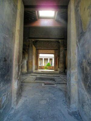 Villa in Pompeji