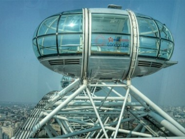 Aussicht London Eye