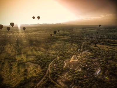Bagan Ballonflug, Dhammayazika