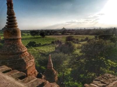 Aussicht von Taung Guni