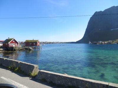 Siedlung auf den Lofoten