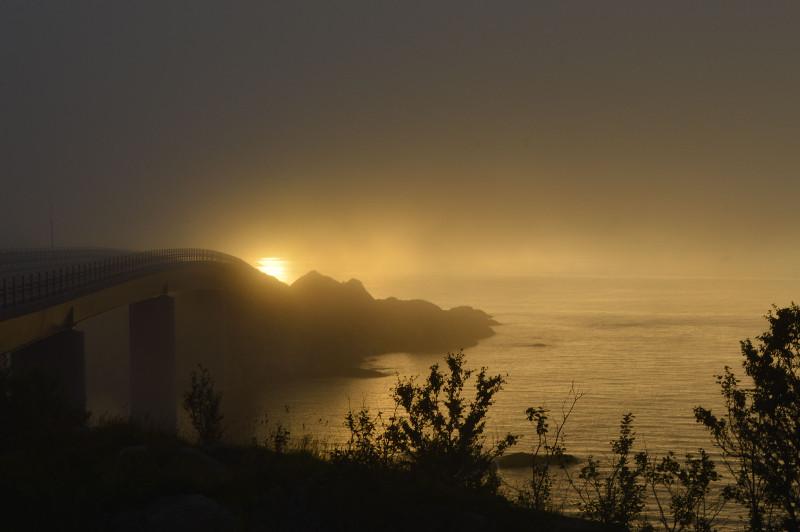 Sonnenaufgang Lofoten