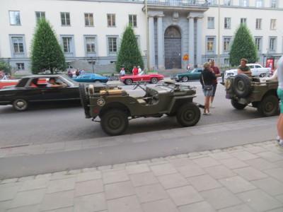 Autokorso in Stockholm
